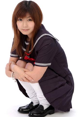 ルーズソックス女子高生1