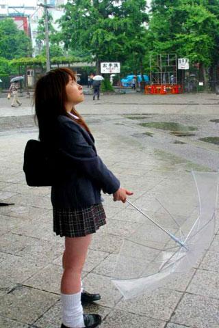 街で見かけた可愛らしい女子高生1
