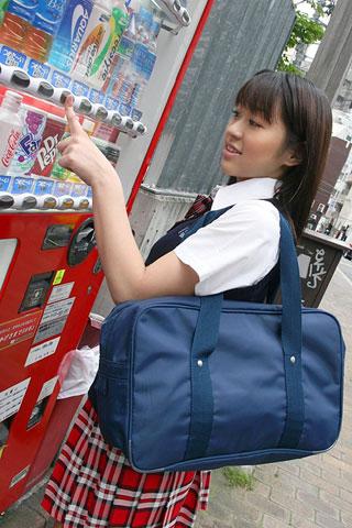 街で見かけた可愛らしい女子高生3