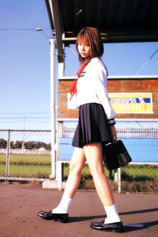 街で見かけた可愛らしい女子高生5