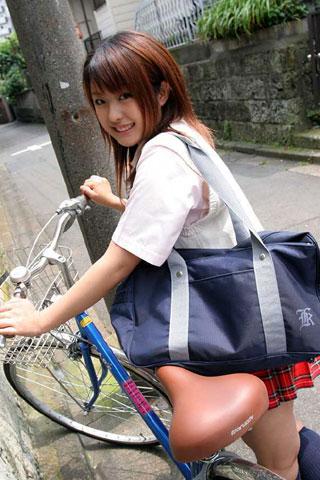 街で見かけた可愛らしい女子高生7