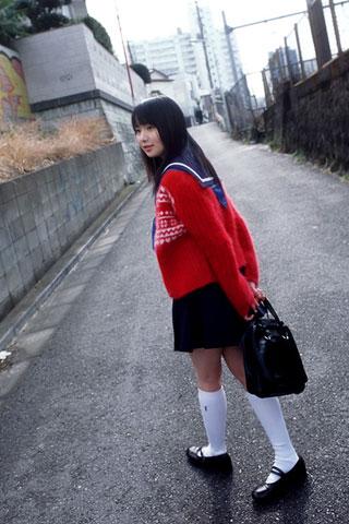 街で見かけた可愛らしい女子高生8