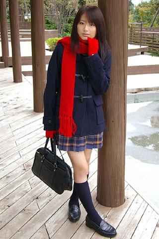 街で見かけた可愛らしい女子高生10