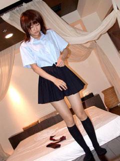 ホテルでいけない事する女子校生5